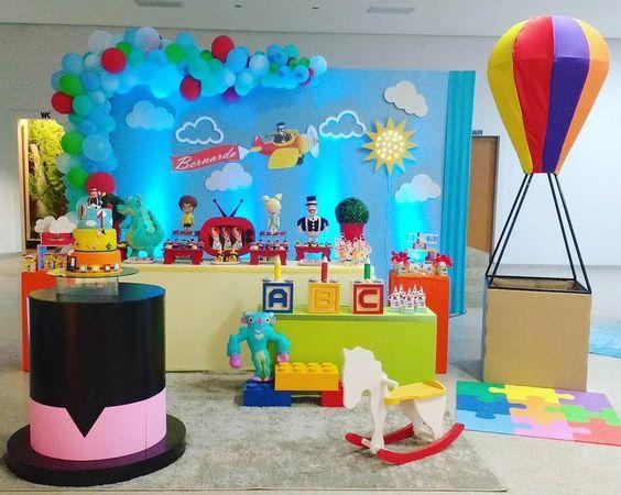 decoracao festa mundo bita 1