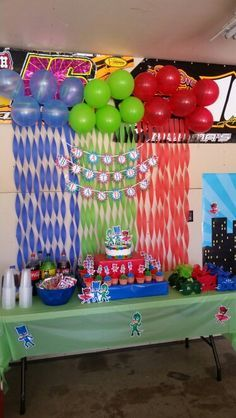 decoracao festa pj masks 1