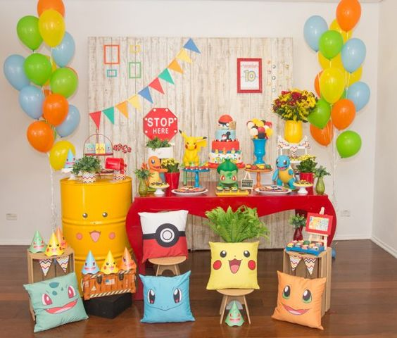 decoracao festa pokemon 11