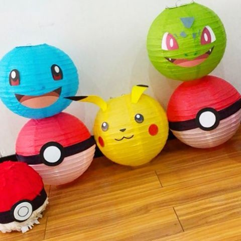 decoracao festa pokemon 3
