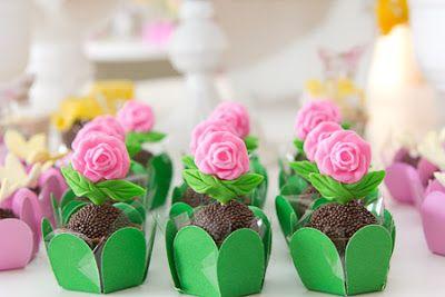 decoracao festa primavera doces