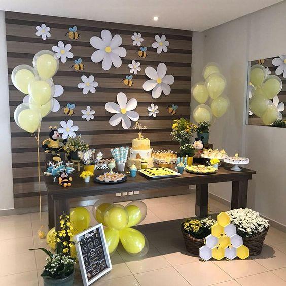 decoracao festa primavera flor