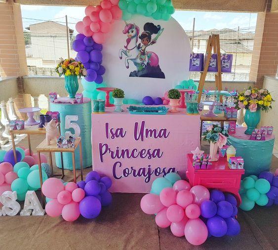 decoracao festa princesa nella inspiracao