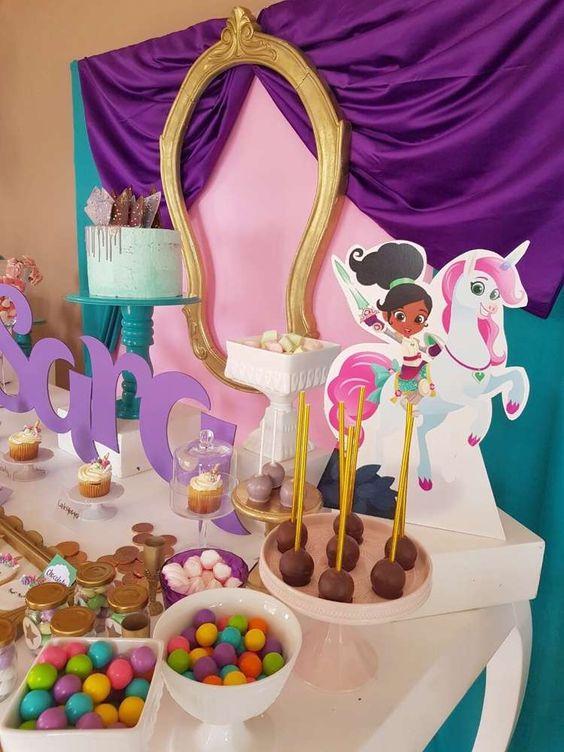 decoracao festa princesa nella pormenores