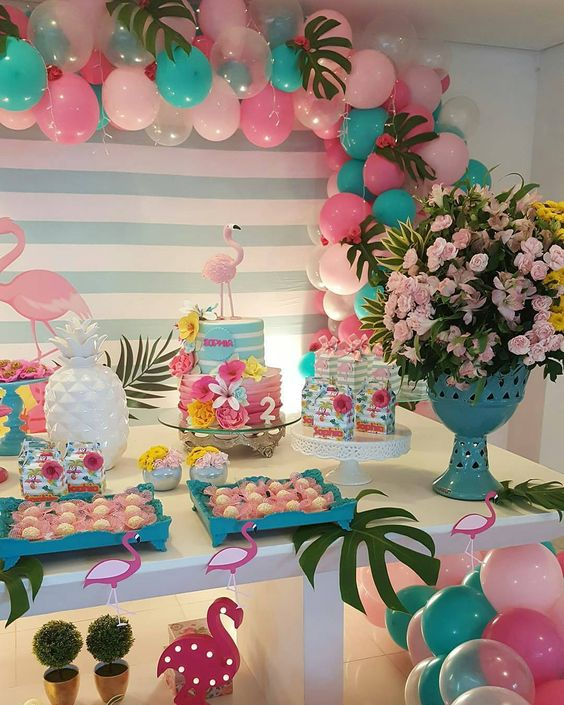 decoracao festa tropical 2