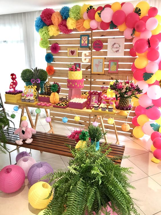 decoracao festa tropical 3
