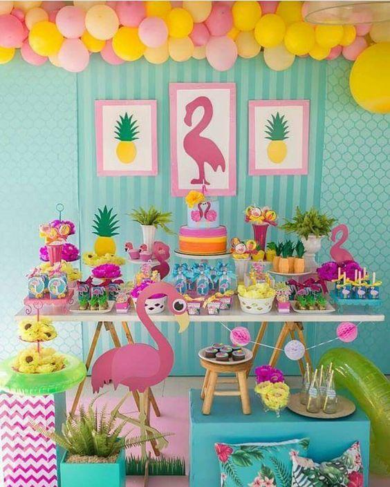 decoracao festa tropical 4