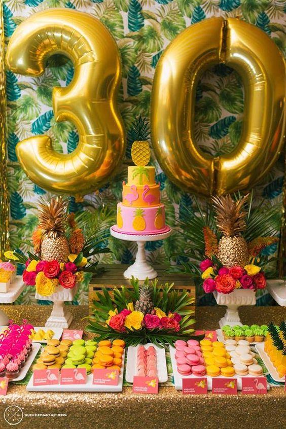 Matrimonio Tema Tropical : Bolos decorados com o tema tropical