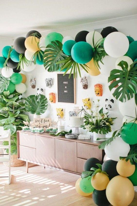 decoracao festa tropical 9