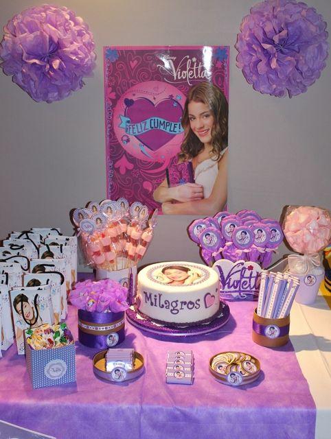 decoracao festa violetta 1
