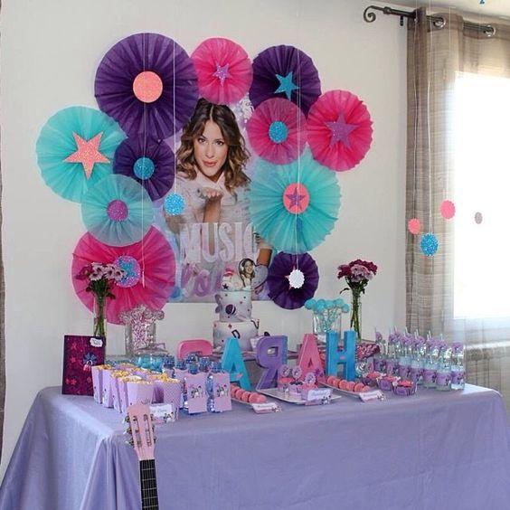 decoracao festa violetta 3