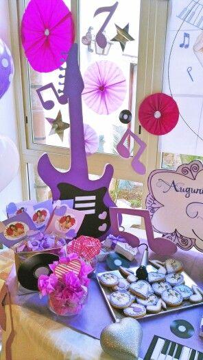 decoracao festa violetta 5
