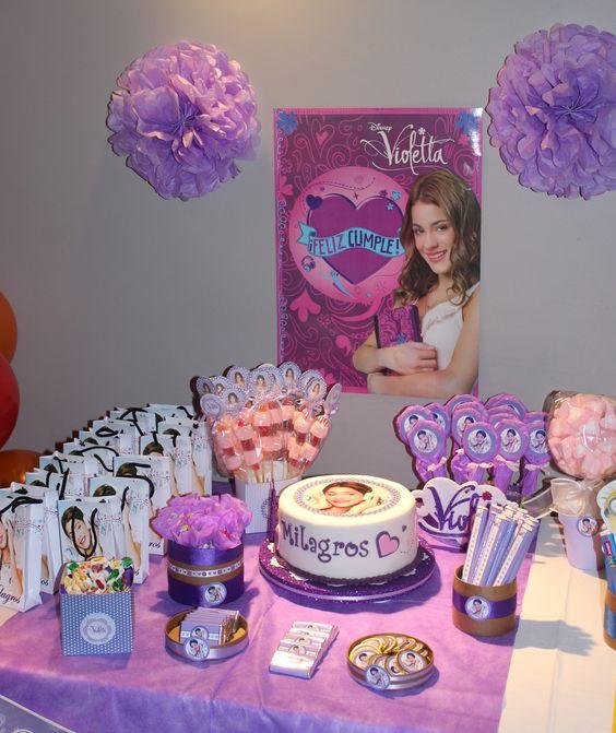 decoracao festa violetta 7