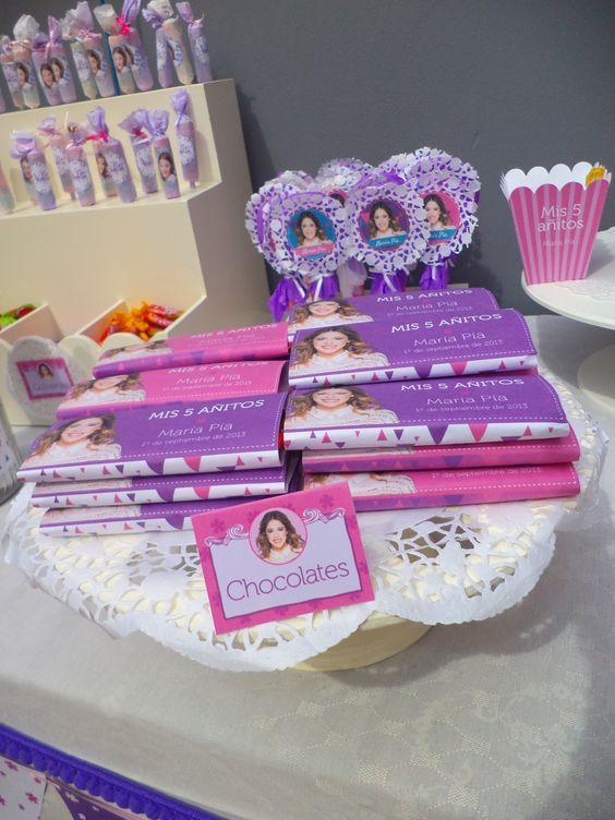 decoracao festa violetta 8