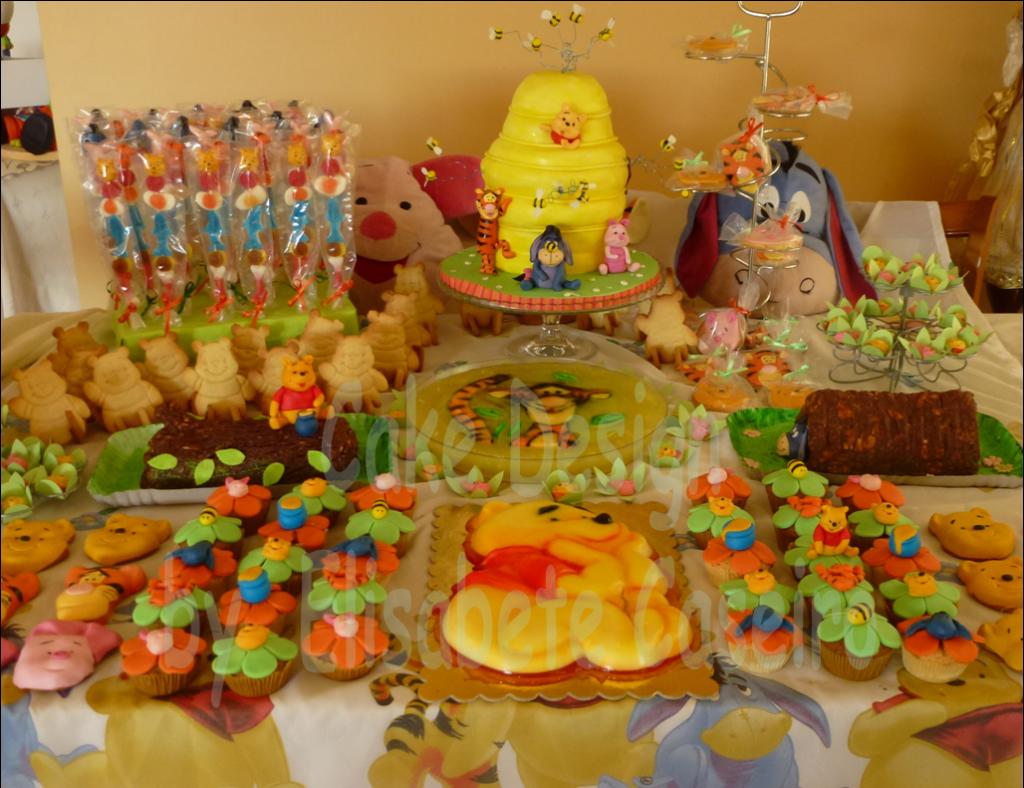 decoracao festa winnie pooh