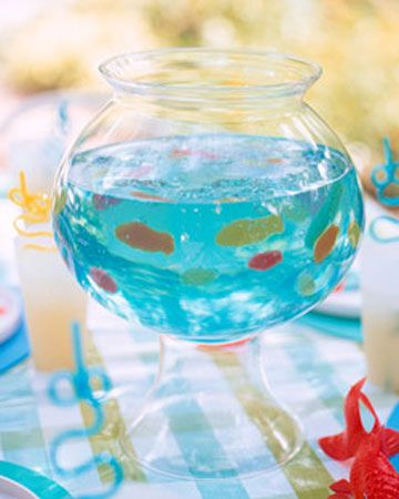diy aquario gelatina festa