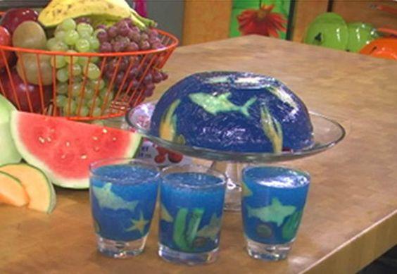 diy aquario gelatina goma