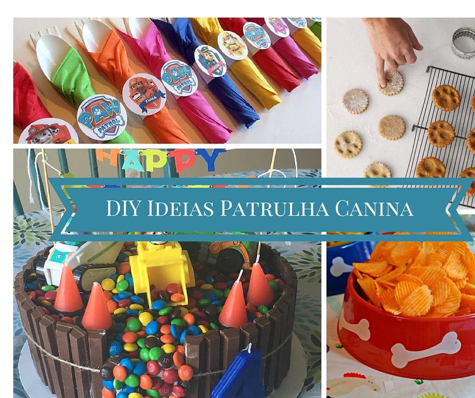10 Ideias DIY para Festa da Patrulha Canina