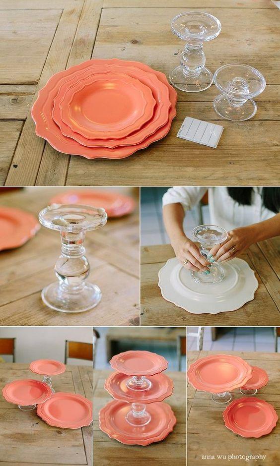 diy torre cupcakes 2
