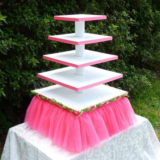 diy torre cupcakes 5