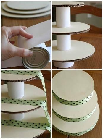 diy torre cupcakes 8