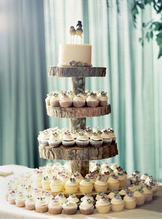 diy torre cupcakes madeira