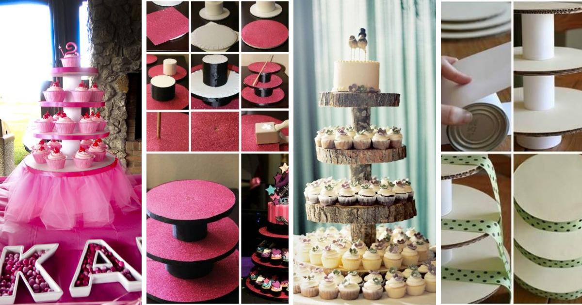 Torre de Cupcakes- Como Montar e Ideias
