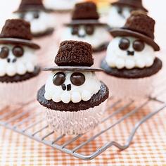 doces assustadores halloween