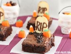 doces para festa halloween