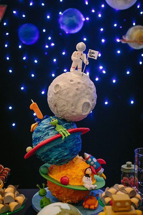 festa astronauta decoracao bolo 4