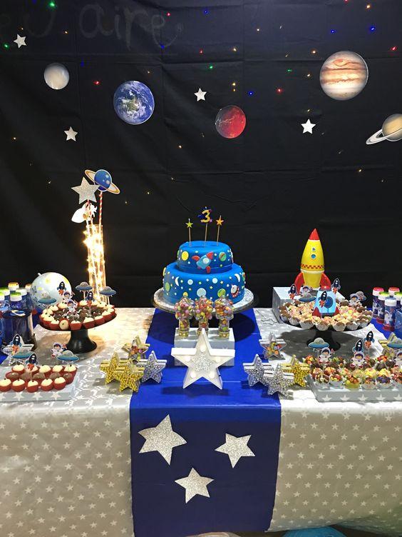 festa astronauta decoracao bolo 6