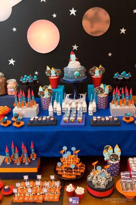 festa astronauta decoracao bolo 8