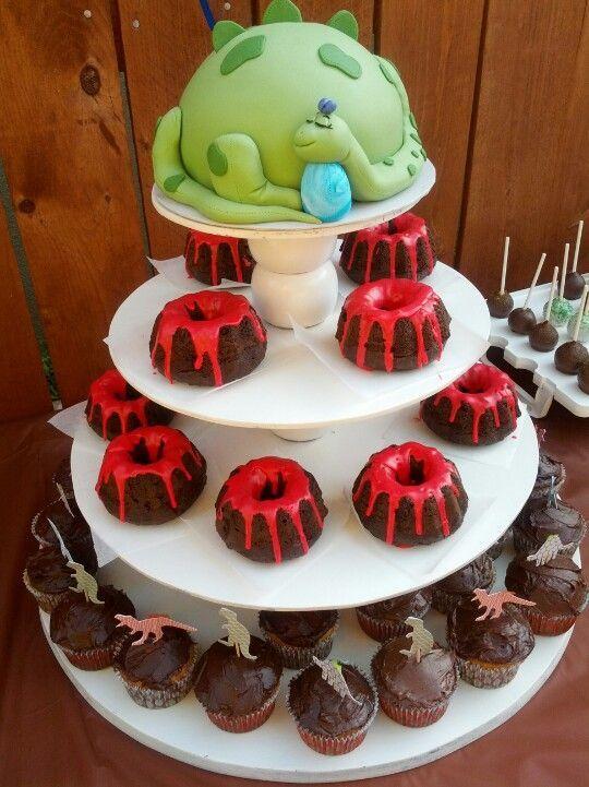 festa dino baby bolo ideias simples