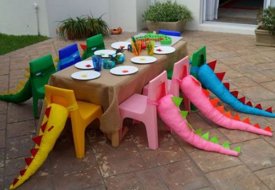 festa dino baby decoracao diy