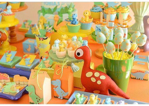 festa dino baby doces