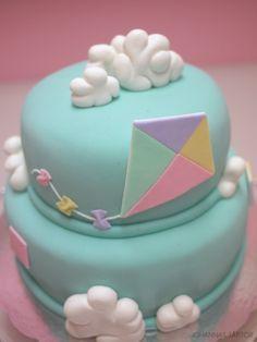 festa pipas cataventos bolo decorado 1