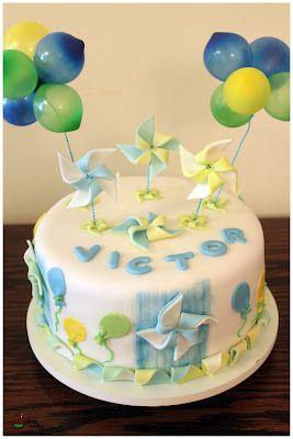festa pipas cataventos bolo decorado 6