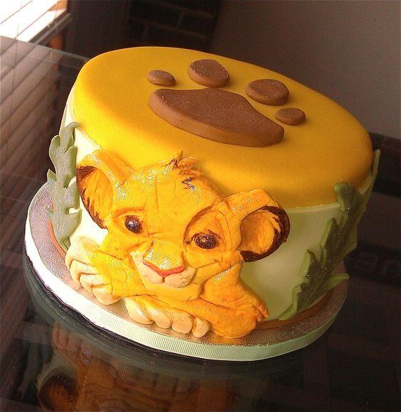 festa rei leao bolo 2