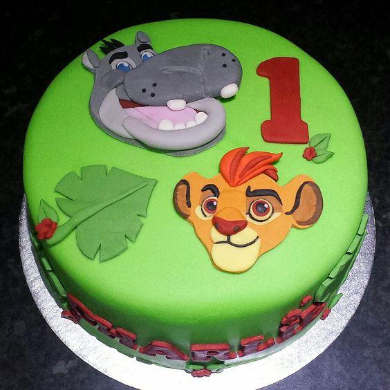 festa rei leao bolo 3