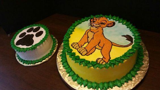 festa rei leao bolo 4