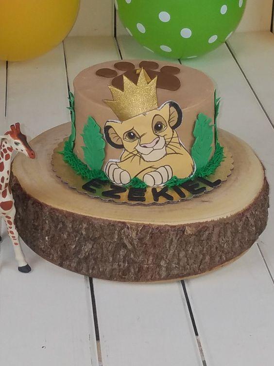 festa rei leao bolo 5