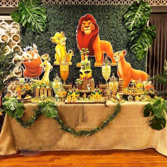 festa rei leao decoracao 3