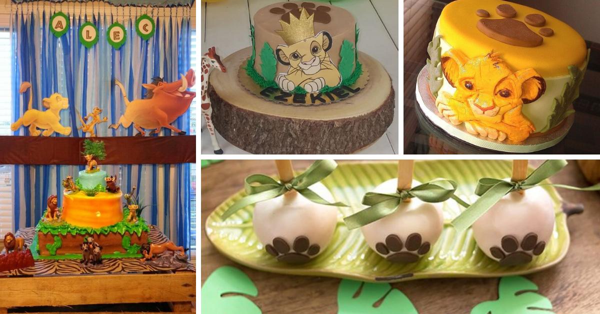 Festa Rei Leão- Dicas de Decoração e Bolos