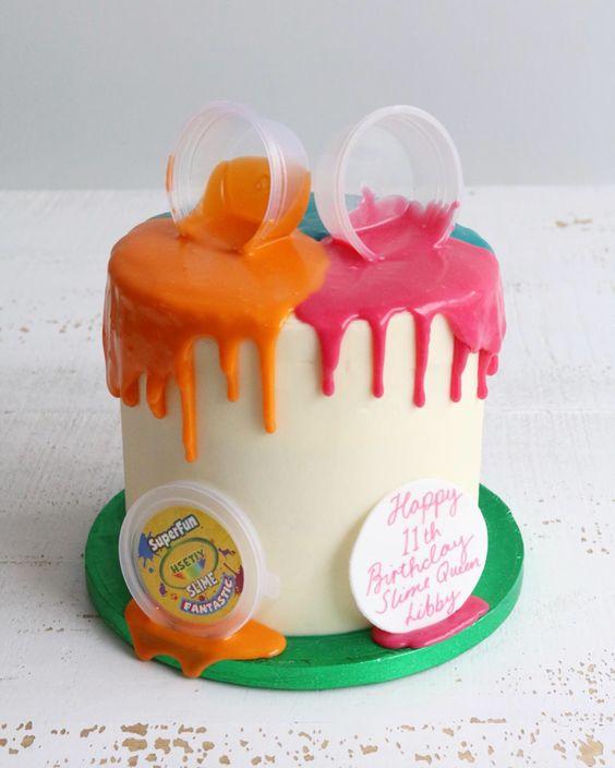 festa slime bolo 1