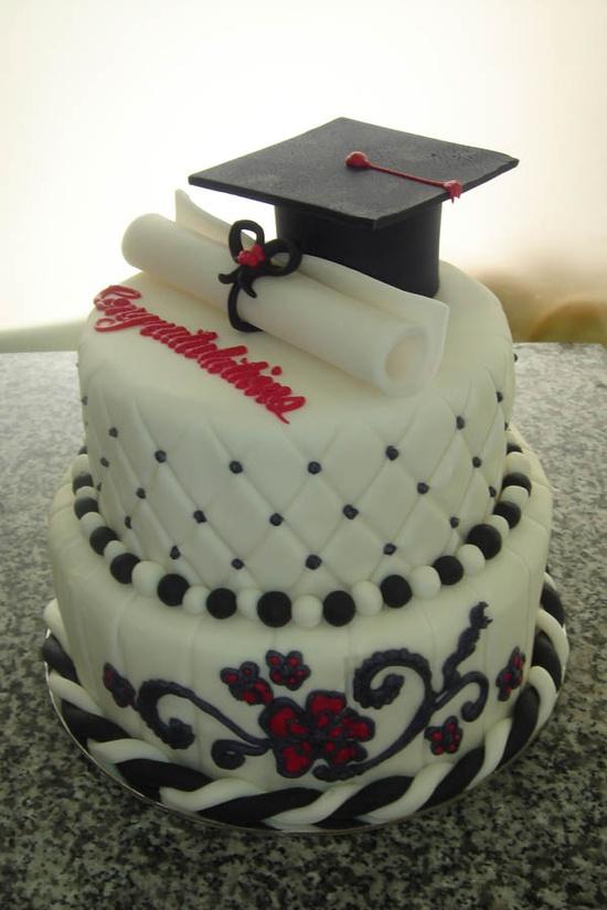 formatura bolo decorado