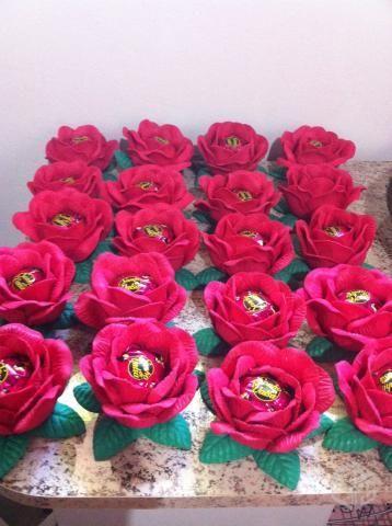 forminhas doces flor