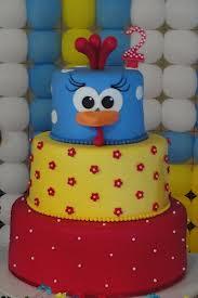 foto bolo decorado galinha pintadinha 2