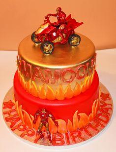 foto bolo homem de ferro
