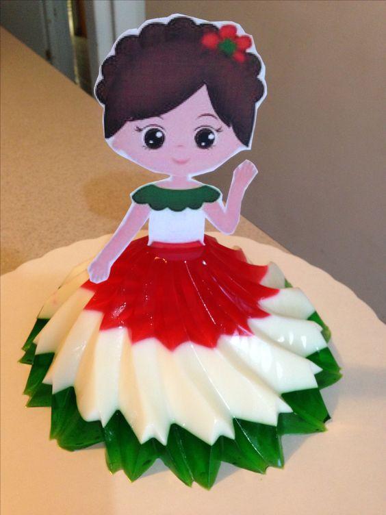 gelatina criativa boneca
