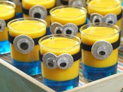 gelatina criativa minions